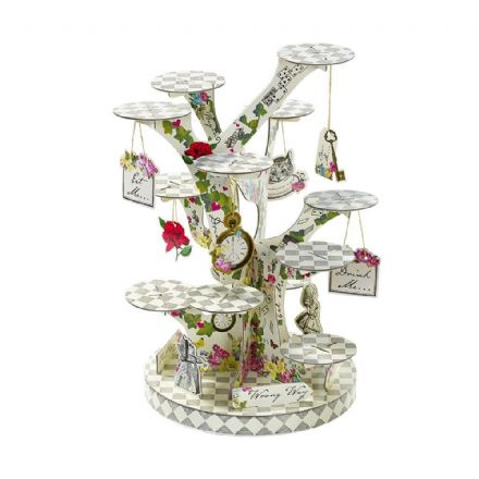 Alice in Wonderland, Truly Alice Tree Shaped Cupcake / Treat Stand